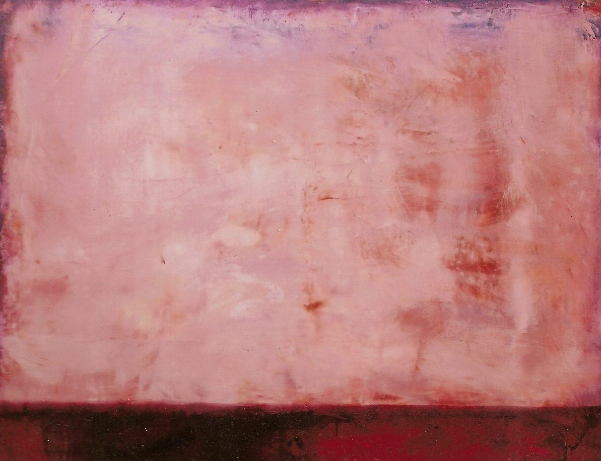 <p></noscript>010. z.t. in roze. olieverf op linnen 120x150cm.</p>