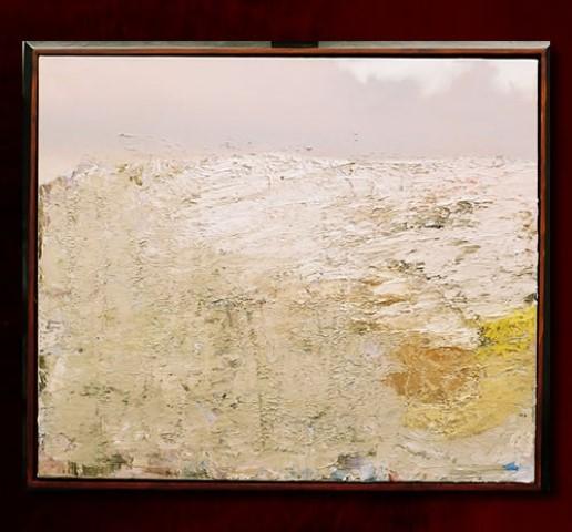 <p></noscript> Sneeuwverwachting. olieverf 85x100cm. X.  collectie</p>