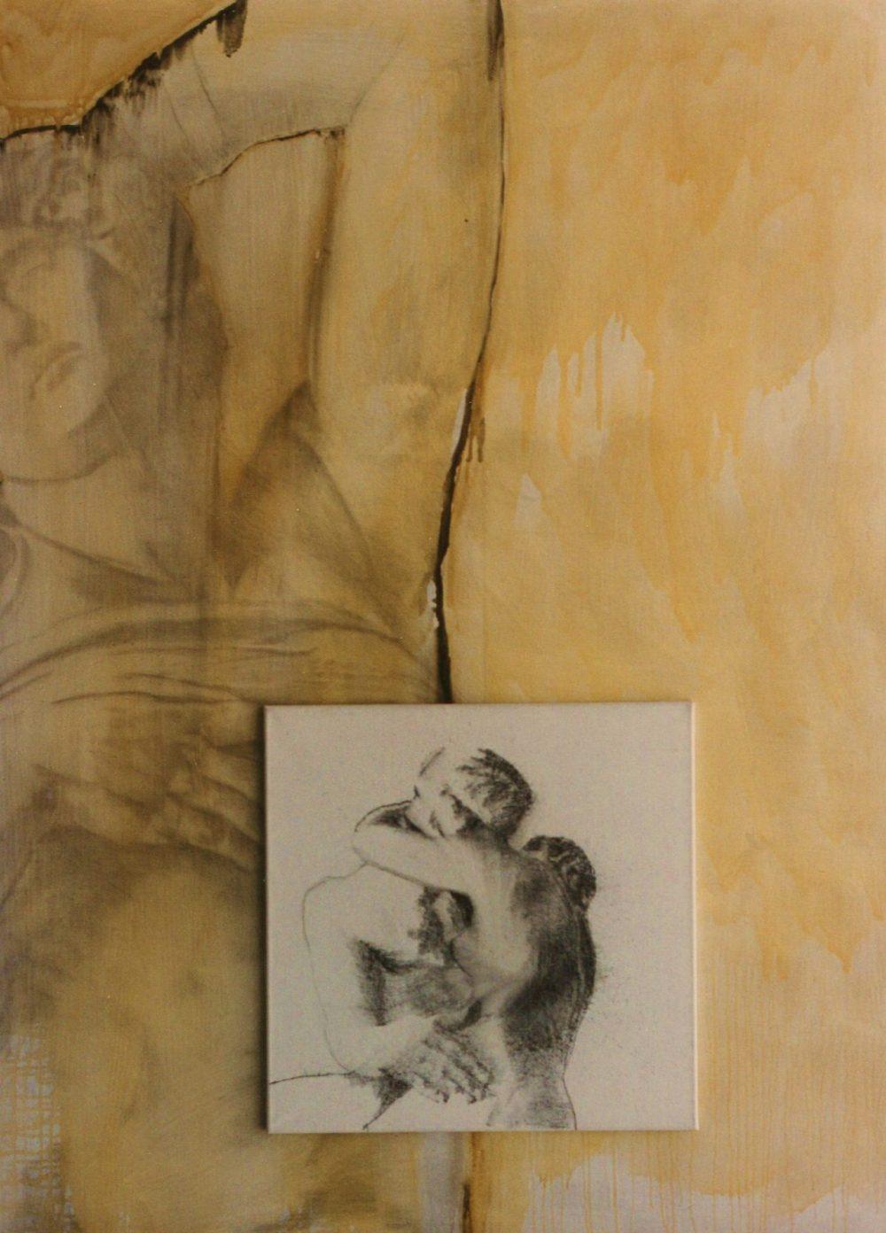 <p></noscript>02. Der Abschied. houtskool en vernis op linnen. 130x180cm.</p>