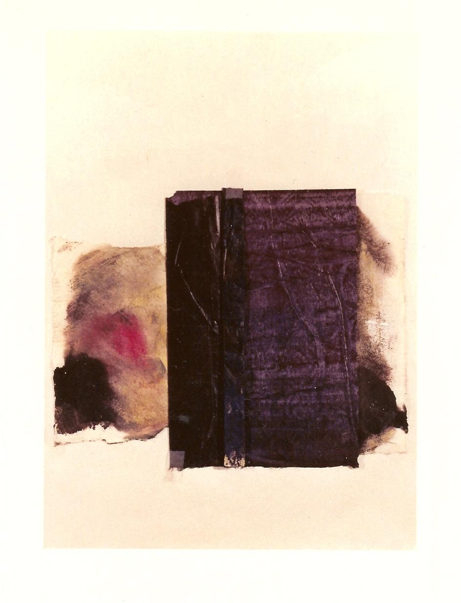 <p>collage olieverf en japanspapier 45x50cm</p>